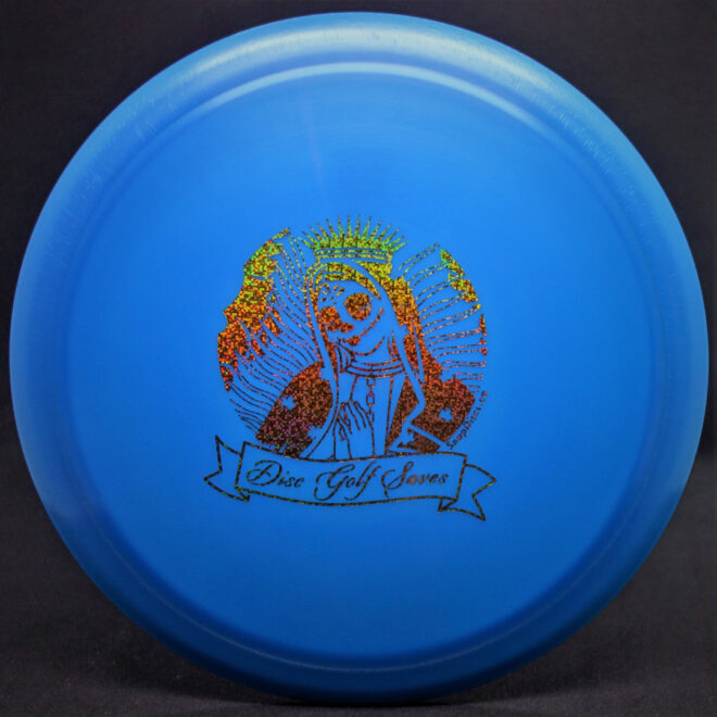 Diamond Spear Blue Disc Golf Saves