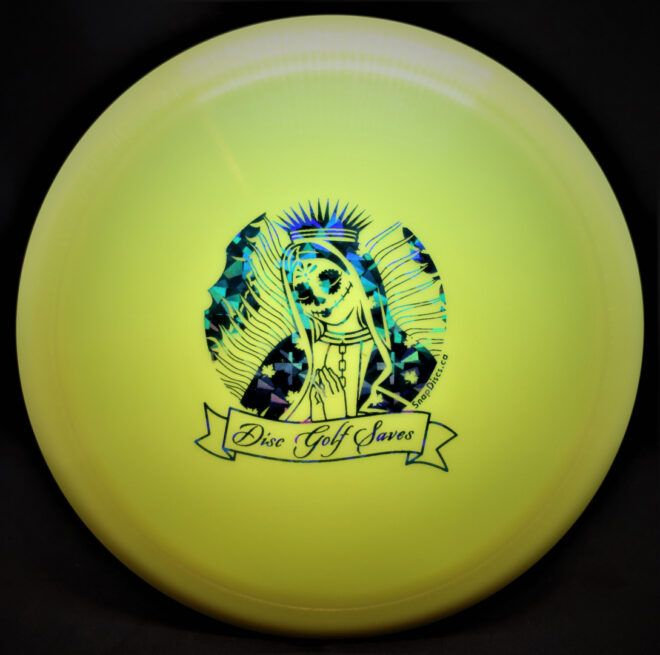 Diamond Spear: Yellow Disc Golf Saves
