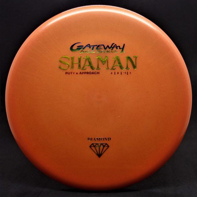 shaman golf disc